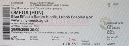 Karlsbad-Ticket